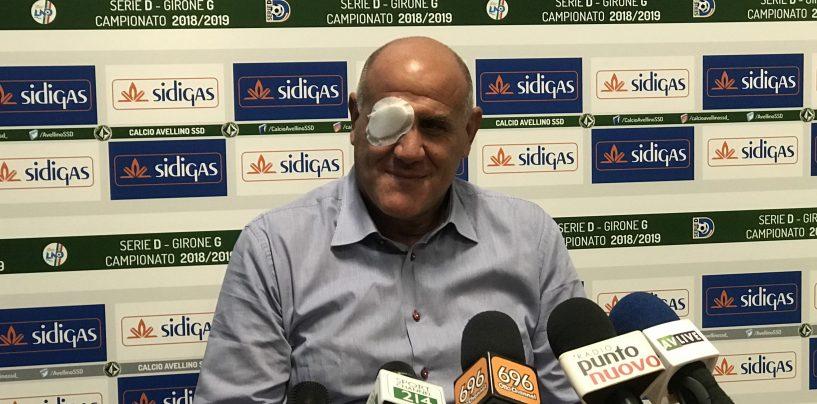 """Graziani spazza via la pretattica: """"Ecco l'Avellino anti-Anagni"""""""