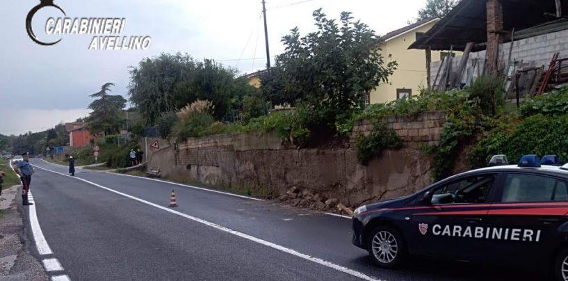 Muro franato sulla Statale 90, ancora disagi per gli automobilisti