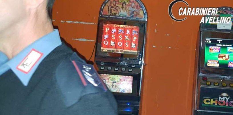 Slot machine non autorizzate: denunciate due persone