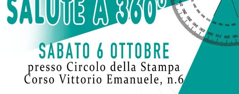 """""""Salute a 360°"""", l'evento sabato al Circolo della Stampa di Avellino"""