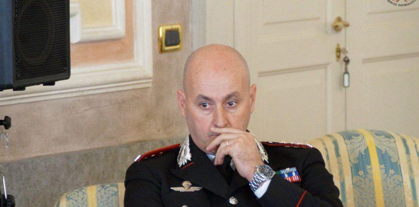 """Il colonnello Cagnazzo alle donne: """"Trovare sempre il coraggio di denunciare e segnalare"""""""