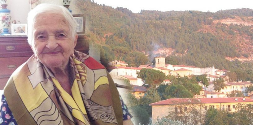 Cento anni di positività: nonna Giuseppina compie un secolo di vita