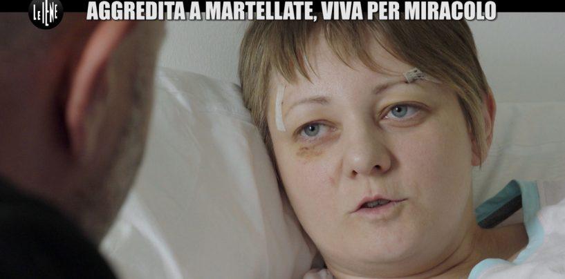 VIDEO/ Presa a martellate dall'ex, viva per miracolo: il caso di violenza raccontato dalle Iene