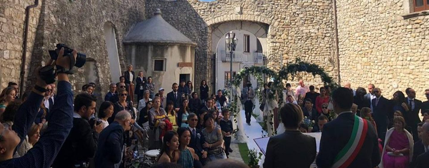 Il castello di Montemiletto diventa meta di wedding tourism