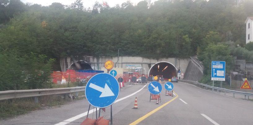 Monte Pergola, nuova chiusura notturna per lavori di manutenzione in galleria