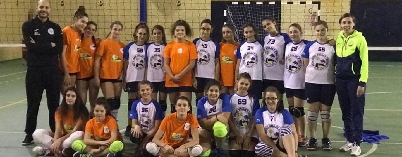 Academy School Volley: l'Under 14 femminile travolge Montoro