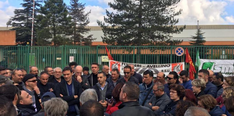 """IIA, sciopero compatto dei lavoratori. De Palma (Fiom): """"Il nuovo piano o sarà ancora mobilitazione"""""""