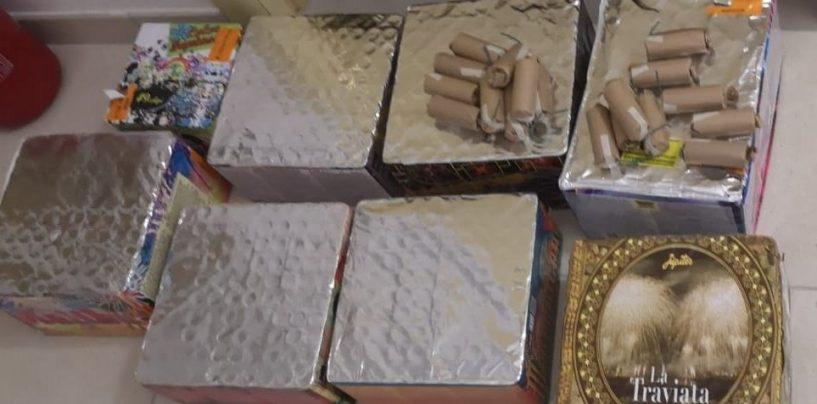 Sorpresi mentre facevano esplodere botti vietati: tre giovani denunciati
