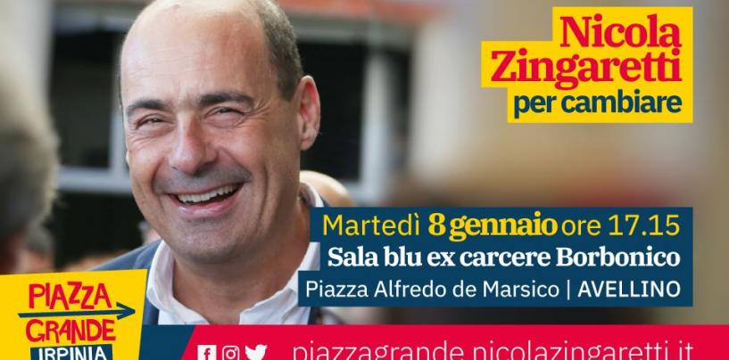 Piazza Grande fa tappa in Irpinia: ad Avellino arriva Nicola Zingaretti