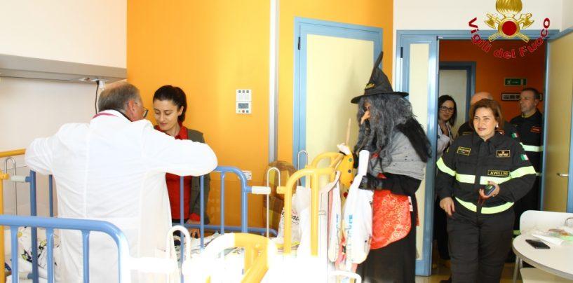 Città Ospedaliera, in Pediatria arriva la Befana