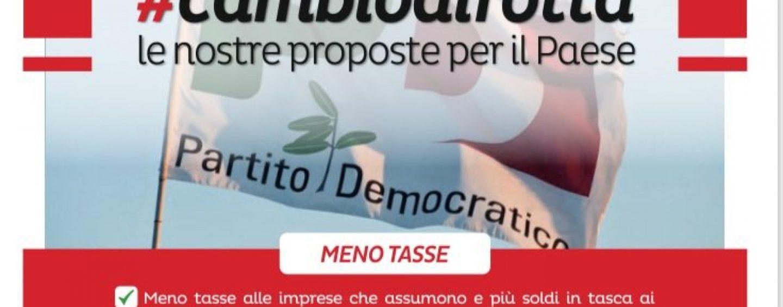 #Cambiodirotta: il Partito Democratico campano scende in piazza contro la Manovra