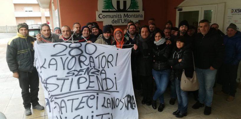 Forestali Avellino, la nota dei sindacati