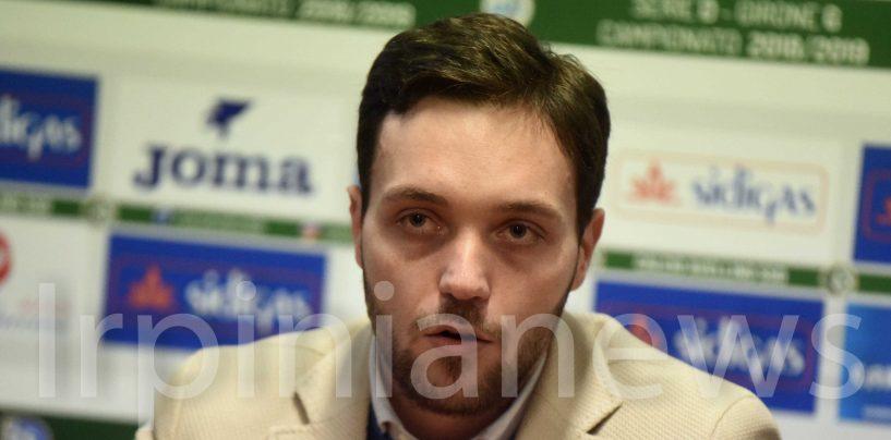 Avellino, Musa miglior ds della LND: la dedica è per Alberani