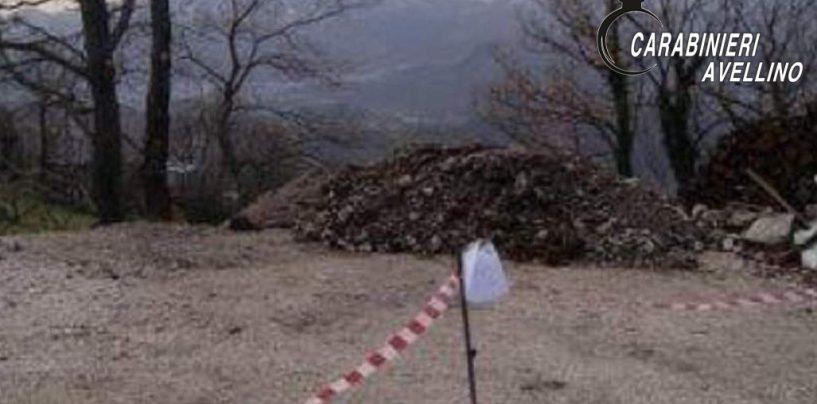 Smaltimento illecito e abbandono di rifiuti: denunciate quattro persone