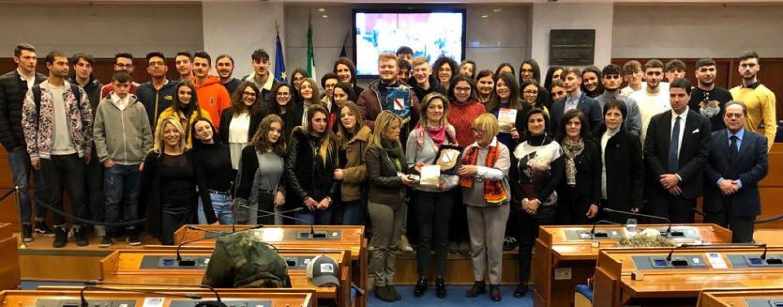 """""""Ragazzi in Aula"""", D'Amelio incontra gli studenti del De Sanctis di Cervinara"""