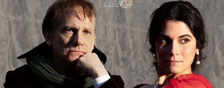 """Giulio Scarpati e Valeria Solarino sul palco del Teatro """"Carlo Gesualdo"""""""