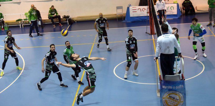 Serie B, l'Atripalda Volleyball perde contro la Folgore Massa 3 a 1