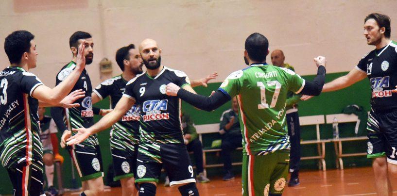 Atripalda Volleyball, ruggito su Cimitile e ipoteca sulla Serie B