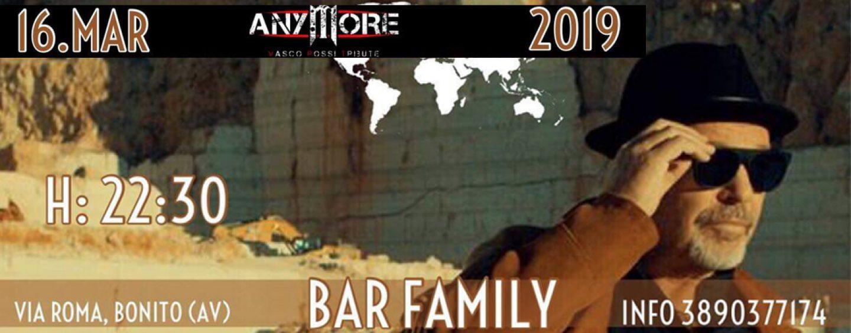 """""""Anymore"""", è conto alla rovescia: il rock di Vasco al Bar """"Family"""" di Bonito"""