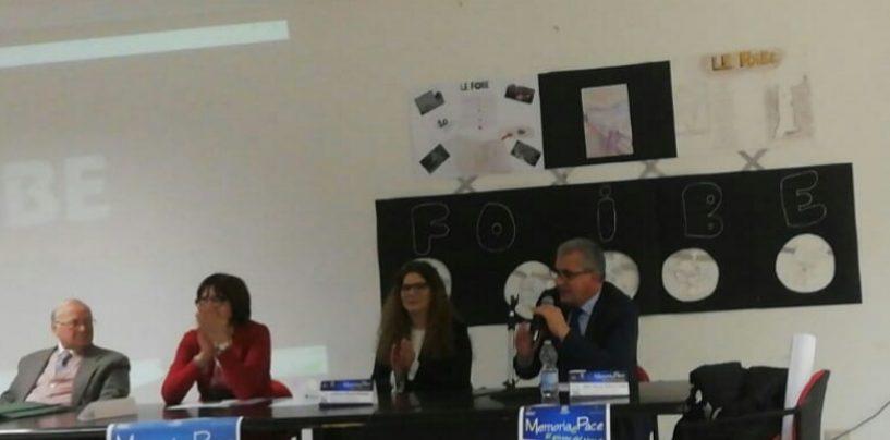 """Memoria e pace"", Fontanarosa ricorda le vittime delle Foibe"