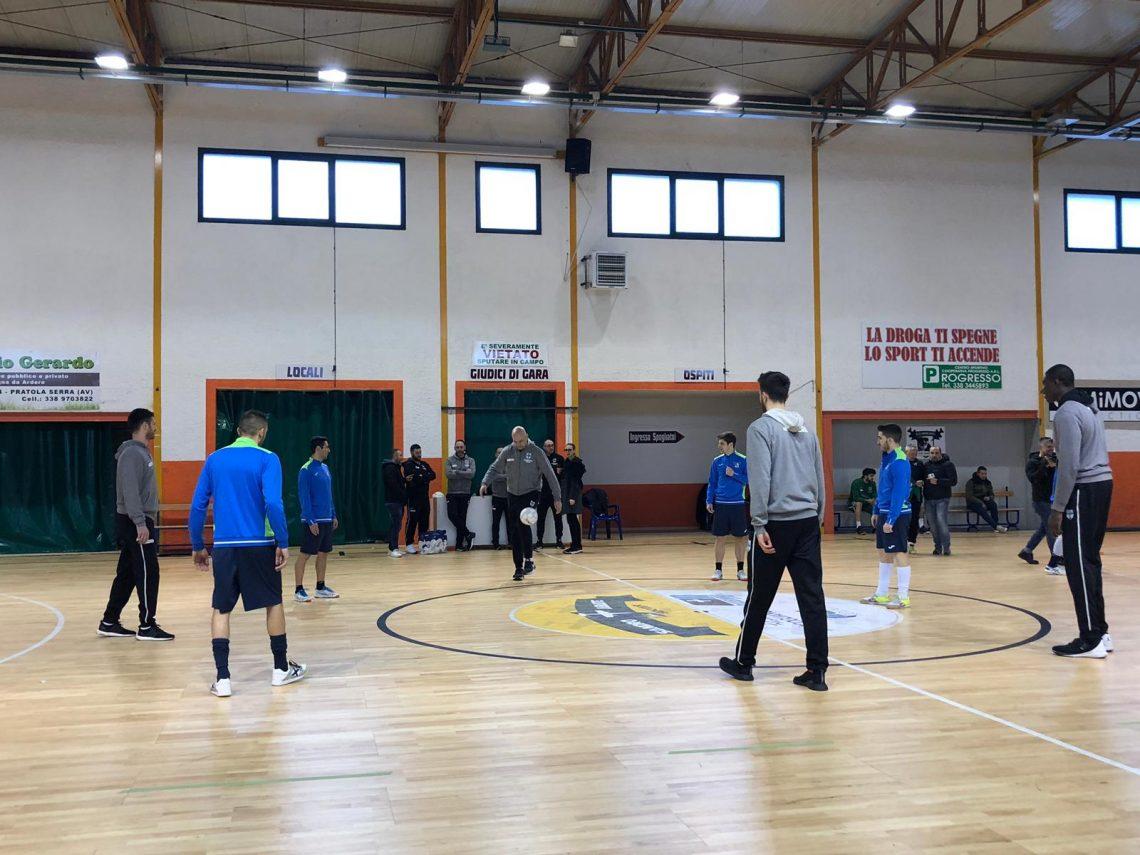 Calcio e Basket: Scandone e Sandro Abate si allenano insieme a Pratola Serra