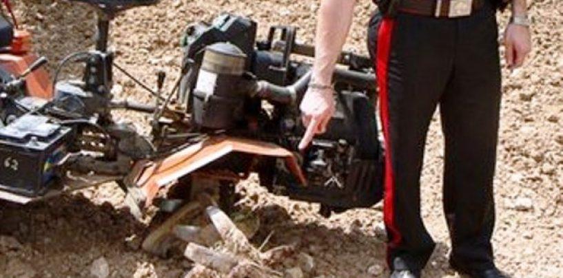 Muore travolto dalla motozappa, tragedia nei campi in Irpinia