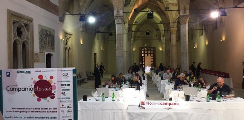 Il vino irpino in Costiera Amalfitana: al via domani l'edizione 2019 di Campania Stories