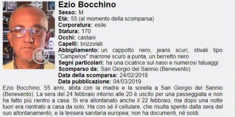 """Scomparso da 10 giorni, anche """"Chi l'ha visto"""" sul caso del 55enne di San Giorgio del Sannio"""