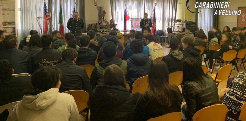 """""""Cultura della legalità"""", i Carabinieri ne parlano con gli studenti dell'I.I.S.S di Grottaminarda"""