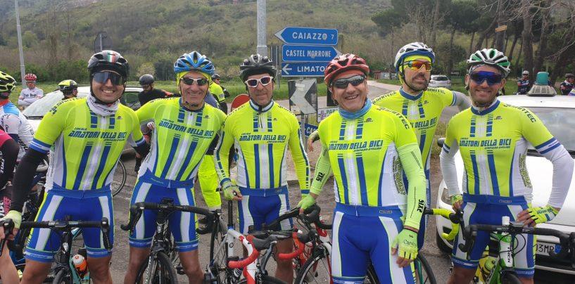 Ciclismo, il circolo amatori di Atripalda sugli scudi a Castel Morrone