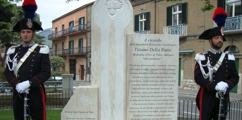 In ricordo del sacrificio eroico di Tiziano Della Ratta, domani la cerimonia a Sant'Agata de' Goti