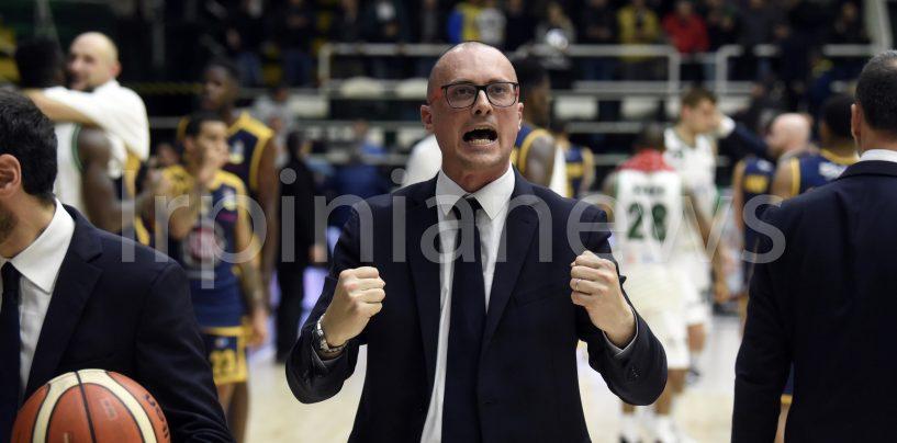 """Sidigas Avellino, coach Maffezzoli: """"Il lupo non si arrende. Importante la sfida contro Brindisi"""""""