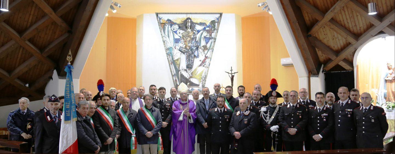 Ariano, i Carabinieri celebrano il precetto pasquale con il Vescovo Melillo