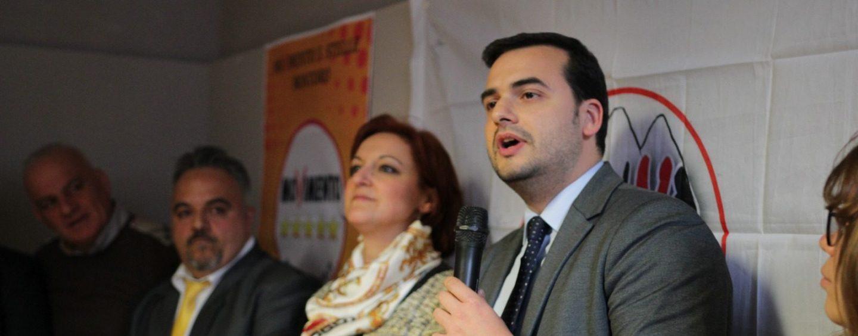 """VIDEO/ Montoro, parlamentari al fianco di Romano: """"Il M5s avanza sul territorio"""""""