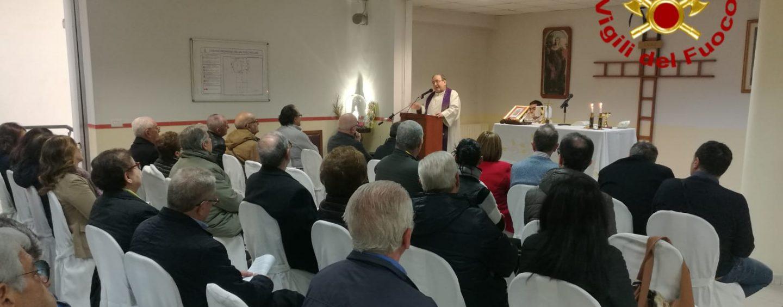Vigili del Fuoco, celebrato il precetto Pasquale presso il Comando di Avellino