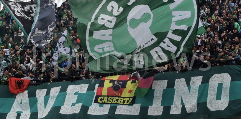 Lupi a Pagani con 300 tifosi. Avellino-Bari a rischio per il Viminale