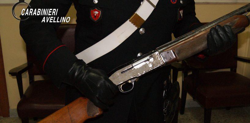 Deteneva fucile e cartucce in un casolare di campagna: arrestata