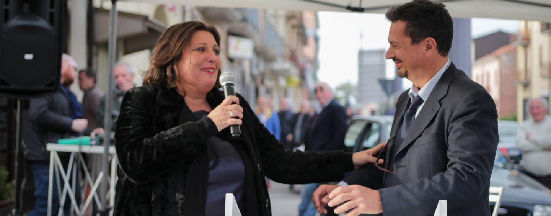 """La Ciarambino a Borgo Ferrovia: """"Il M5s lavora in squadra. La Lega? Non votatela in Campania"""""""