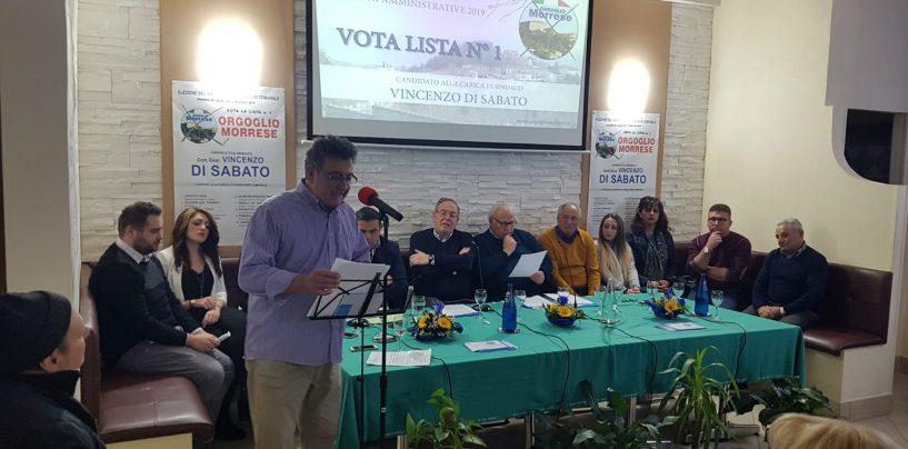 Morra de Sanctis al voto: la sfida di Orgoglio Morrese