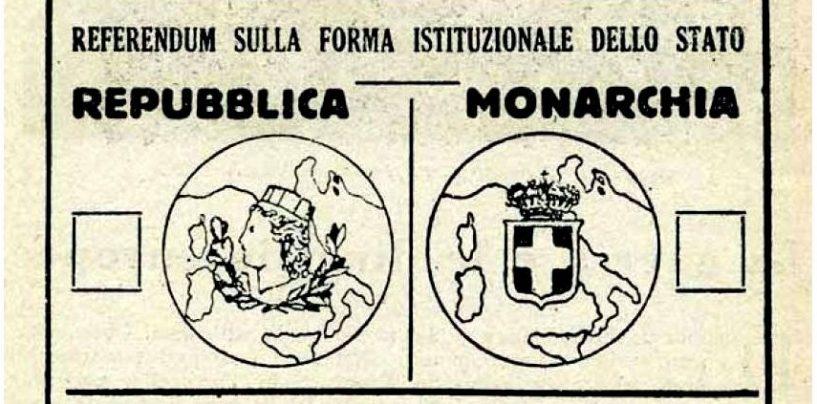 2 giugno, 73 anni fa nasceva la Repubblica Italiana. Ma l'Irpinia e il Sud votarono per la Monarchia