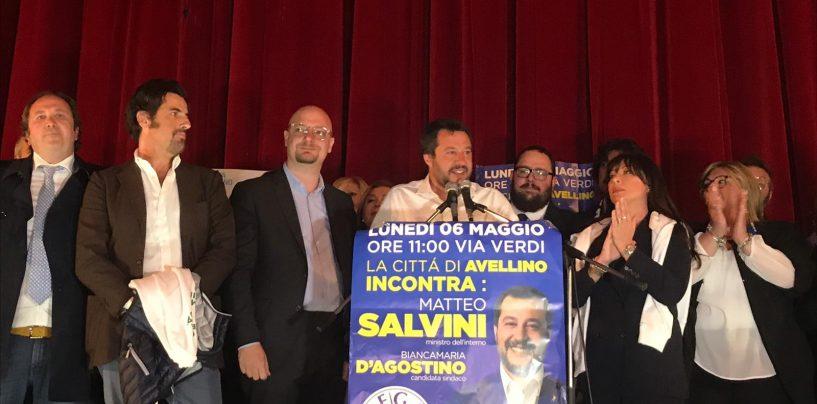 Salvini ad Avellino: la nota dei candidati consiglieri di Si Può