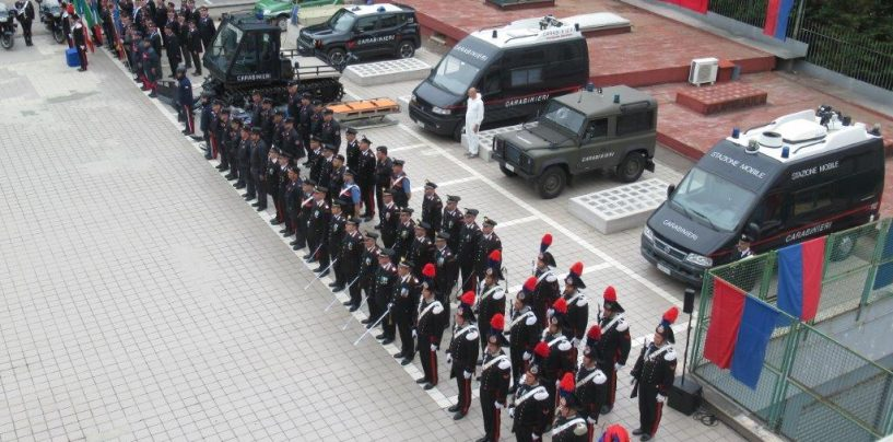 A Benevento celebrato il 205° anniversario di Fondazione dell'Arma dei Carabinieri