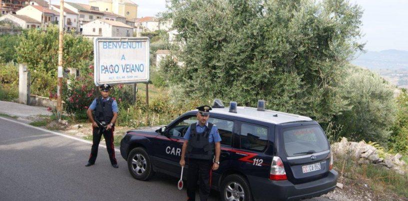 Pago Veiano: giovane pusher arrestato dai carabinieri. Sequestrati 50 grammi di hashish