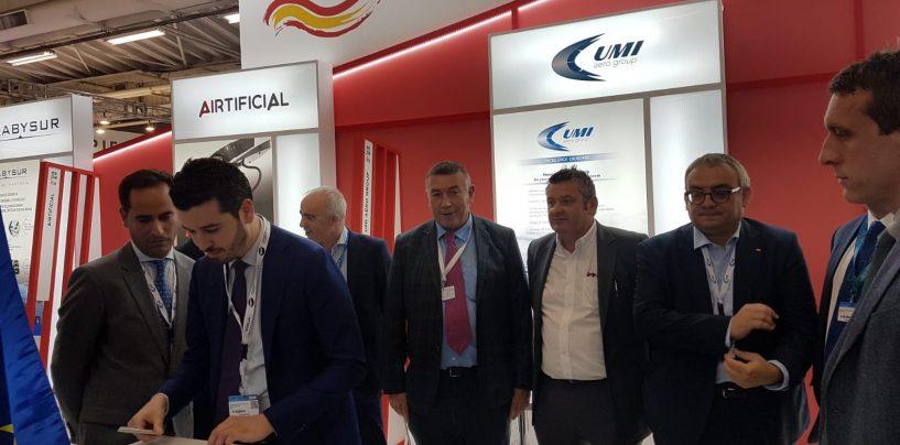 Aerospazio, l'irpina Omi rappresenta l'Italia in Umi Aero Group