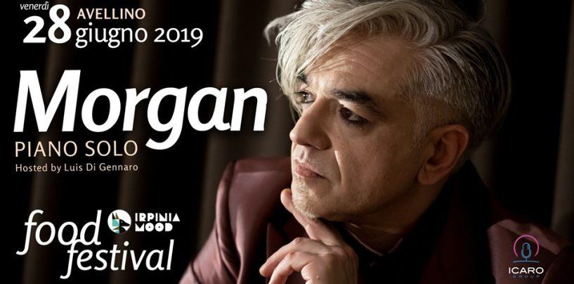 Irpinia Mood parte col botto: Morgan inaugura il Food Festival a Corso Vittorio Emanuele