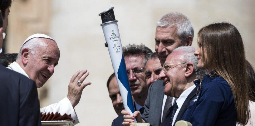 Da Montevergine ad Avellino a Ospedaletto e Summonte: la fiaccola olimpica fa il suo esordio in Campania