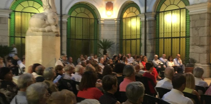 Al chiostro della Purità di Atripalda sulle note di Bach e Ravel