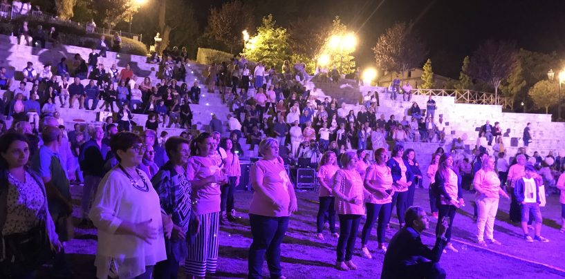 Prevenzione, palco rosa a San Nicola Baronia