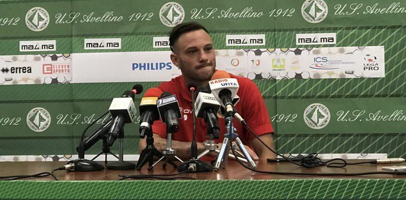 """Avellino-Catania, Di Piazza: """"Determinati a vincere questo torneo"""""""