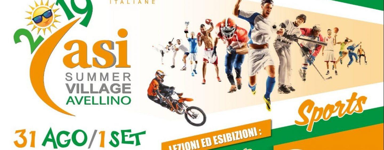 ASI Summer Village, ad Avellino un weekend all'insegna dello sport